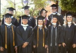 These are all the other students who were graduating with my degree. Yep..9. We were a tiny school.
